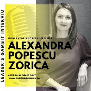 Leader's GAMBIT Ep008 | Interviu cu Alexandra Popescu | Moderator Andreea Pipernea