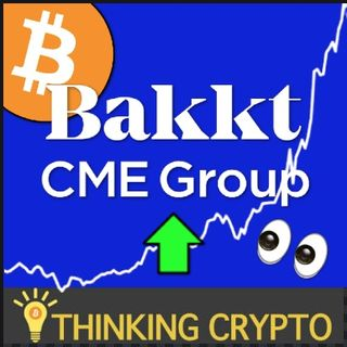 BITCOIN FUTURES SURGE with BAKKT & CME Seeing Recording Breaking Volume - Ethereum 2.0 Validator