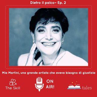 """Dietro il palco, ep 2: """"Mia Martini, una grande artista che aveva bisogno di giustizia"""", a cura di Giorgio Verdelli"""