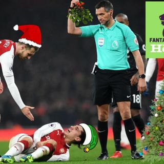 20: Christmas Special, guest Ben Dinnery on injuries in festive period, pun battles, seasonal quiz and end of year advice