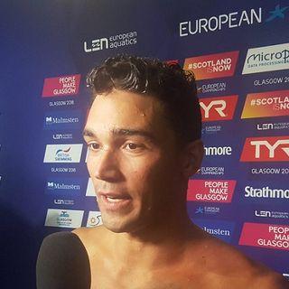 """Nuoto, Europei Glasgow 2018. Luca Pizzini: """"Mi sento più forte di prima"""""""