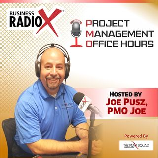 PMO Joe chats with Dale Richards from Swattage and John Baley from PMI Phoenix