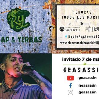 RAP & YERBAS Prog 16 Radio Pacheco