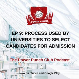 Process used by universities to select candidates for admission