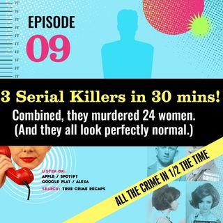 3 Serial Killers & a Superhero