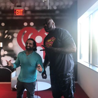 Dj Pup Dawg With Shaq Boston