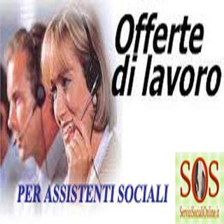 Rassegna concorsi e offerte di lavoro per assistenti sociali
