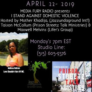 Stand Against Domestic Violence, Hosted by Mother Khadija and Maxwell Melvins