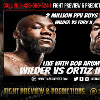 ☎️Wilder vs Ortiz PPV What's The Truth❓Wilder-Fury 2 Million PPV Buys😱Live with Bob Arum❗️