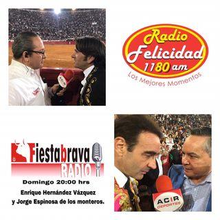 Desde la Plaza de Toros México, Fiesta Brava Domingo 11 de Noviembre 2018
