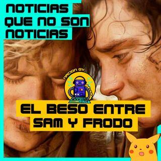 Noticias Geek: El beso entre sam y frodo! | 24 de enero