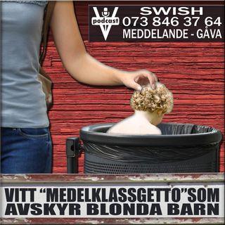 """VITT """"MEDELKLASSGETTO"""" SOM AVSKYR BLONDA BARN"""