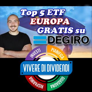 TOP 5 ETF GRATIS su DEGIRO: Eurozona