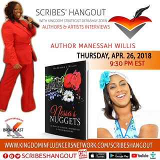 Scribes' Hangout welcomes Manessah L Willis