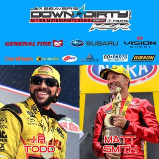 #361 – NHRA Champs JR Todd and Matt Smith On Air!
