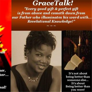 "GraceTalk!...with  Author J.L . Godfrey giving us steps to ""Living an Uncommon Life!"""