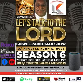 Just In Time with Guest General Bishop Norman Hutchins
