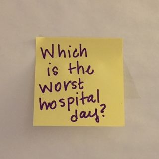 Which is the Worst Hospital Day?