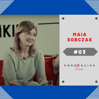 Maia Sobczak qmamkasze.pl dieta wegetariańska zdrowe odżywianie lifestyle w Kondraciuk LIVE! #03