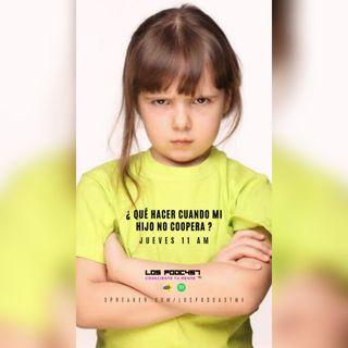 13. ¿Qué hacer cuando mi hijo no coopera?
