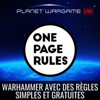 Jouer à Warhammer avec des règles simples, gratuites et stables