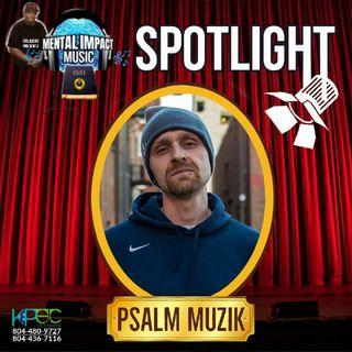 Episode 14 - MentalImpact Music Spotlight- Psalm