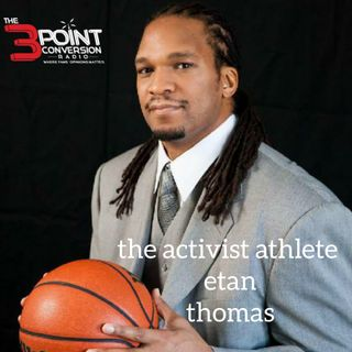 "One-on-One with Etan Thomas- ""The Activist Athlete"" Talks Playing With MJ, Should NBA Season Continue & Police Brutality"