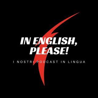 In English, please!