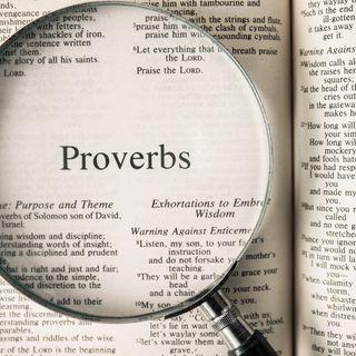 The Book of Proverbs-Pt 2 (Pre-Rec)