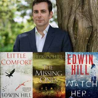 Author Edwin Hill - Hester Thursby Mystery Series