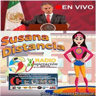 DATOS ACTUALES DEL AVANCE DE LA PANDEMIA COVID-19 EN MÉXICO-18 ABRIL 2020