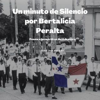 9 de enero: Un Minuto de Silencio por Bertalicia Peralta