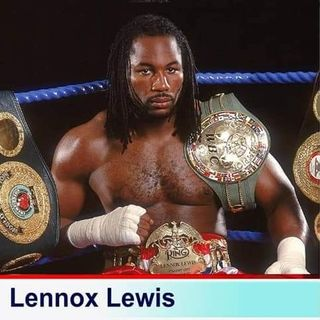 The Darriel Roy Show - Lennox Lewis Interview