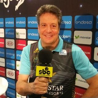 Carmelo Cabrera, El Globetrotter Blanco analiza el derbi