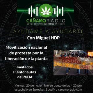 Ayúdame a ayudarte Movilización nacional en protesta por la liberación de la planta