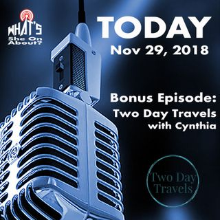 Bonus Ep - Two Day Travels with Cynthia