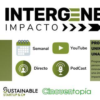 Programa núm. 1 Intergeneración Impacto. Entrevista a Toni Garrido