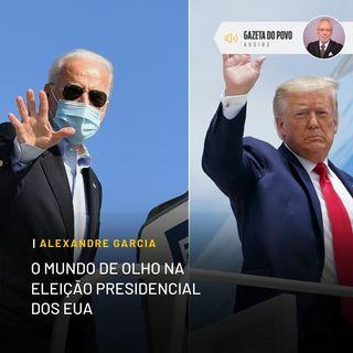 O mundo de olho na eleição presidencial dos EUA