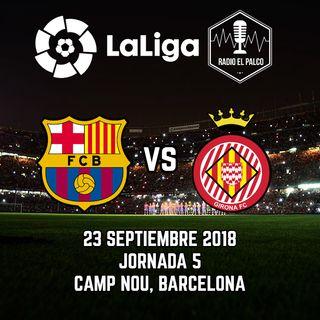FC Barcelona vs Girona FC en VIVO