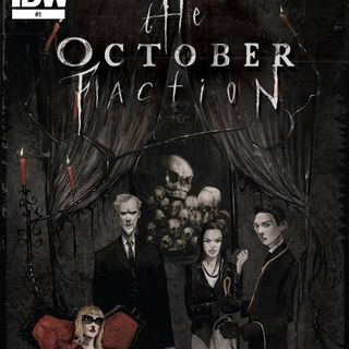 Source Material #269 - October Faction vol. 1 (IDW, 2014)