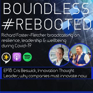 Boundless #Rebooted Mini-Series EP18: Cris Beswick getting real about innovation