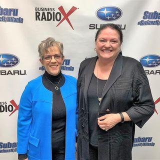 Debra Smithart-Oglesby and Terri Jondahl of CAB Incorporated