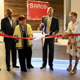 EP: 149 Ribbon Cutting Ceremony Held For Manufacturer Barco Which Is Bringing 50 New Jobs To Dul