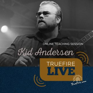Kid Andersen - Blues Licks Guitar Lessons, Performance, & Interview