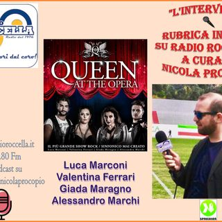 Interviste ai 4 cantanti di Queen at the Opera a Roccella Jonica il 6-08-2019