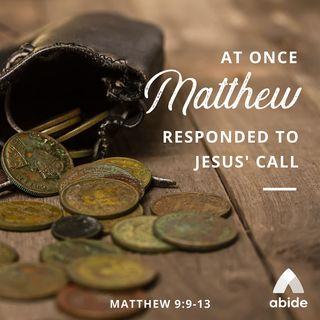 The Gospels: Matthew Tax Collector