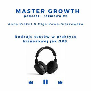Master Growth - Rozmowa#2 - Rodzaje testów w praktyce biznesowej jak GPS