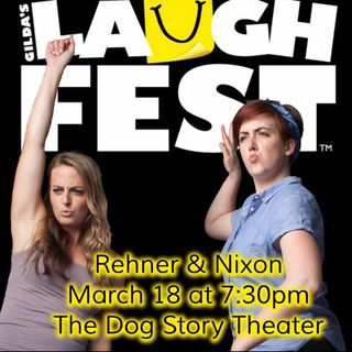 GR's Mollie Rehner brings her sketch comedy show Rehner & Nixon to Laughfest 2017