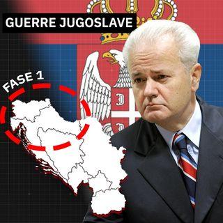 La dissoluzione della Jugoslavia: le guerre serbe in Slovenia e Croazia
