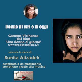 RUBRICA DONNE DI IERI E DI OGGI: SONITA ALIZADEH rapper e attivista afghana contro i matrimoni forzati